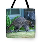 Raccoon In Flight Tote Bag