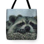 Raccoons Painterly Tote Bag
