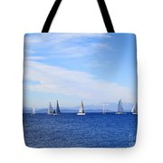 Race In Point Roberts Tote Bag