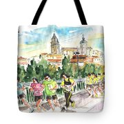 Race In Salamanca Tote Bag
