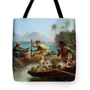 Race To The Market Tahiti Tote Bag