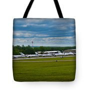 Race Week 2014 Pocono Airport  Tote Bag