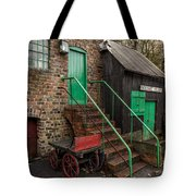Racecourse Colliery  Tote Bag by Adrian Evans
