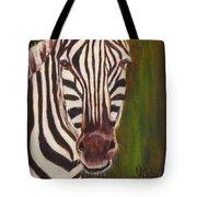 Racer, Zebra Tote Bag