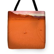 Racetrack Valley Death Valley National Park Tote Bag