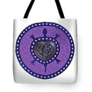 Purple Valentine 2011 Tote Bag