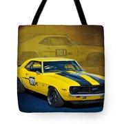 Racing Camaro Tote Bag