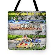 Racing Dreams Tote Bag