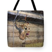 Rack On The Wall Tote Bag