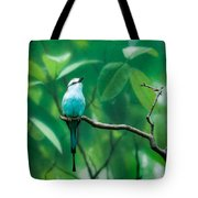 Racquet Tailed Roller Tote Bag