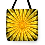 Radial Love Tote Bag