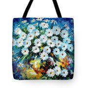 Radiance 2 - Palette Knife Oil Painting On Canvas By Leonid Afremov Tote Bag