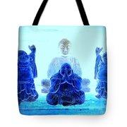 Radiant Buddhas Tote Bag