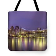 Radiant City Tote Bag by Evelina Kremsdorf