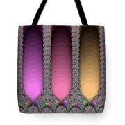 Radiant Columns Tote Bag
