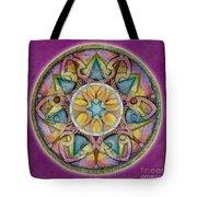 Radiant Health Mandala Tote Bag