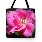 Radiant In Pink - Rose Tote Bag