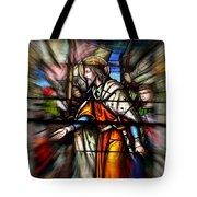 Radiant Jesus Tote Bag
