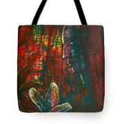 Radiating Light Tote Bag