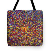 Radiation Blue Tote Bag