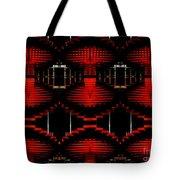 Radiation Dna Glow Tote Bag