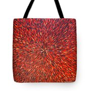 Radiation Red  Tote Bag