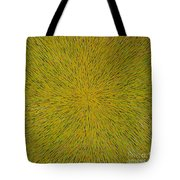 Radiation With Yellow Green And Red Tote Bag