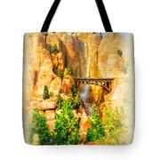 Radiator Springs Waterfall Tote Bag