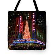 Radio City At Christmas Time - Holiday And Christmas Card Tote Bag