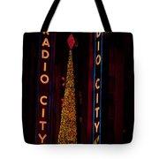 Radio City Christmas Tote Bag