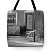 Radio City Music Hall In Black And White Tote Bag