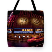 Radio City Tote Bag