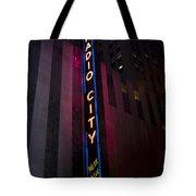 Radio City Tote Bag