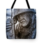 Radio Man Tote Bag