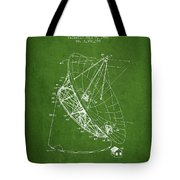 Radio Telescope Patent From 1968 - Green Tote Bag