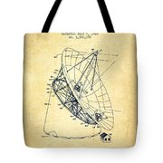 Radio Telescope Patent From 1968 - Vintage Tote Bag