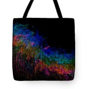 Radio Waves Tote Bag