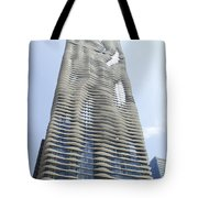 Radisson Blu Facade Vertical Tote Bag