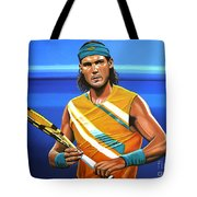 Rafael Nadal Tote Bag by Paul Meijering