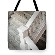 Raffle's Hotel Marble Staircase Tote Bag