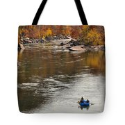 Rafting The New River Tote Bag