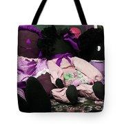 Ragged Annie Dolls Tote Bag