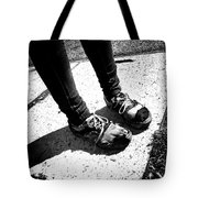 Ragged Shoes Tote Bag