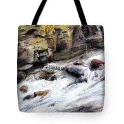 Raging River Tote Bag