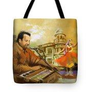 Rahat Fateh Ali Khan Tote Bag