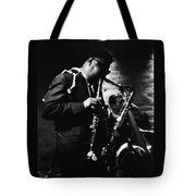 Rahsaan Roland Kirk At Penthouse Seattle 1967 Tote Bag