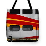 Rail Runner At Rest Tote Bag
