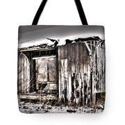 Rail Station Tote Bag