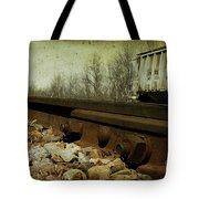 Railroad Bolts Tote Bag