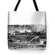 Railroad Bridge, 1858 Tote Bag